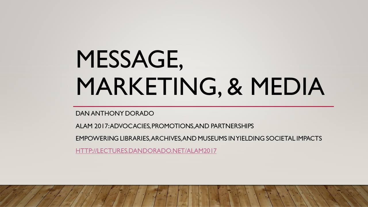 Advocacy Marketing for LAMs